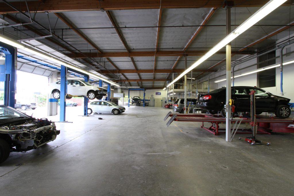 Back Shop Golden West Collision Center